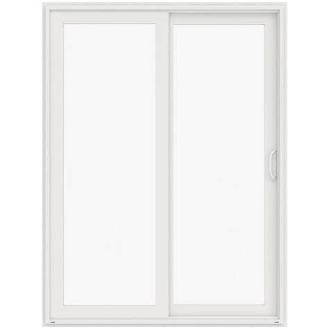 jeld wen 72 in x 96 in v 4500 white prehung left