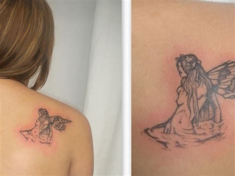 small angel tattoos for women tattoos on shoulder designs for