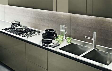 top cucina acciaio prezzi top per cucine in acciaio inox