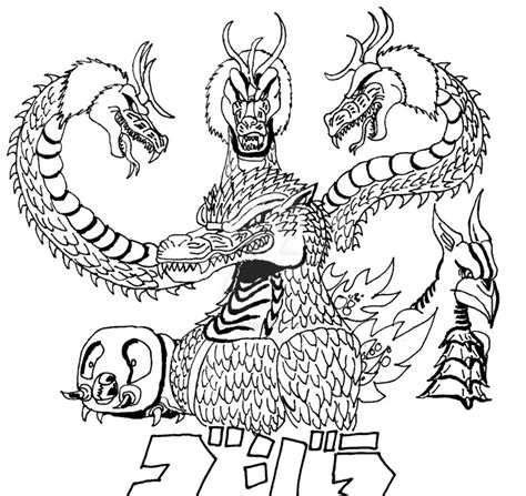burning godzilla coloring pages burning godzilla free colouring pages