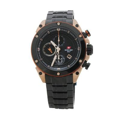 Swiss Army Jam Tangan Pria Sa 0080 M Bezel Silver Ring Gold harga swiss army sa 2016m gold coklat jam tangan pria