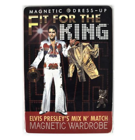 elvis fit for the king magnetic dress up wardrobe