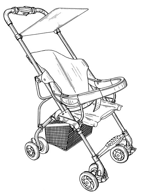 patent usd436899 baby stroller google patents