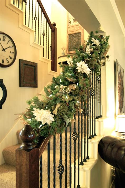 stair railing christmas ideas 27 staircase decor ideas that you will feed inspiration