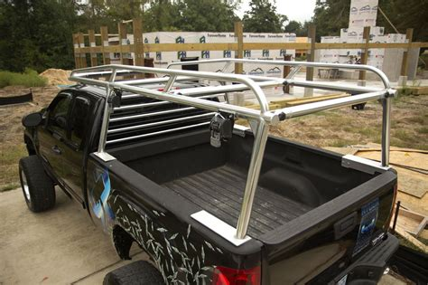custom aluminum kayak rack for a chevy truck ryderracks