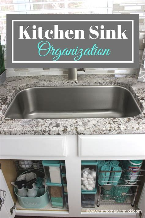awesome how to organize the kitchen sink kitchen