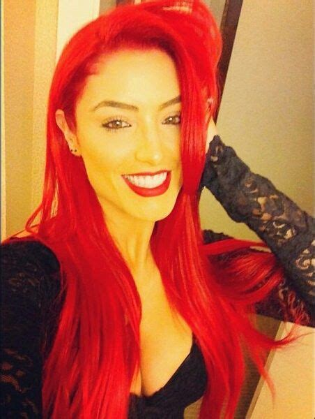 what hair extensions do the wwe divas we eva marie hair eva marie red hair colored hair