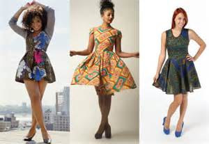 Modelos de vestidos curtos de capulana