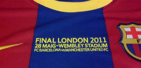 Jersey Barcelona Home 1617 Patch Ucl barcelona football shirt home kit ucl 2011 jersey