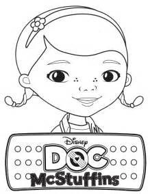 disney doc mcstuffins coloring amp coloring pages