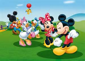 Mickey Mouse Clubhouse Wall Stickers mickey mouse clubhouse wallpaper