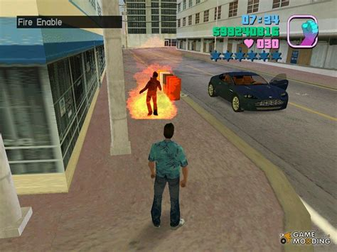 ban mod game gta vice city fire for gta vice city