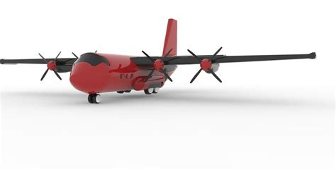 Cargo Plane Models cargo plane 3d model ready fbx ma mb cgtrader