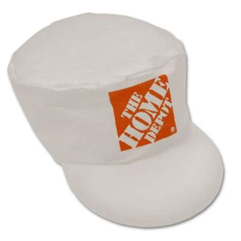 home depot spray paint caps workforce home depot logo painter s cap 88 thd pc the