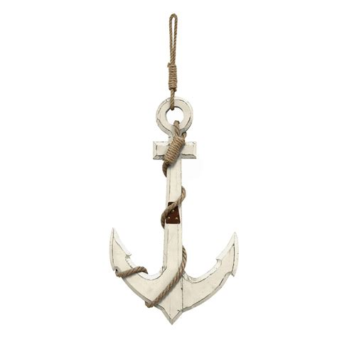 anchor home decor stratton home decor nautical anchor wall decor white