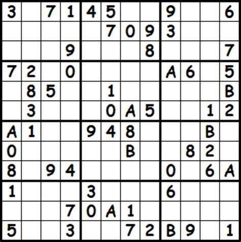 5 best photos of super sudoku 16x16 print monster sudoku pluie de sudoku