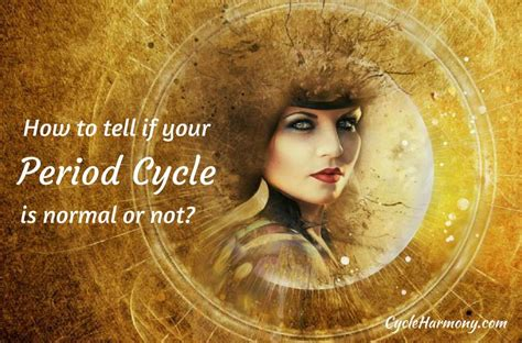 period cycle  normal   cycle