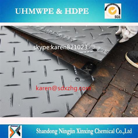 High Friction Resistant Pe Plastic Temporary Road Access