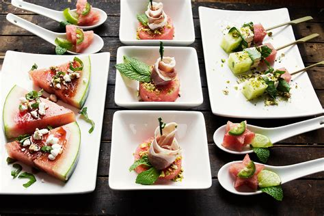 easy christmas hor dourves fast and festive watermelon hors d oeuvres seasons and suppers