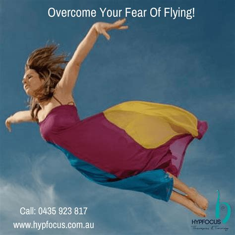 6 Ways To Conquer Your Fear Of Flying by Hypnotherapy