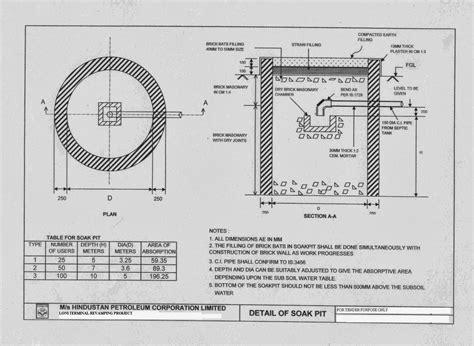 1 diameter floor leveler civil at work septic tank and soak pit