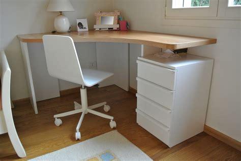 ikea scrivania angolare scrivania angolare su misura legno di rovere baistrocchi