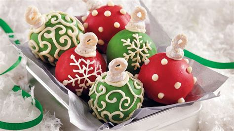 cake ball ornaments recipe bettycrocker com