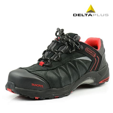 high quality deltaplus steel toe cap covering safety shoes