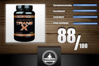 trans x creatine supplement scitec nutrition trans x creatin proteintester