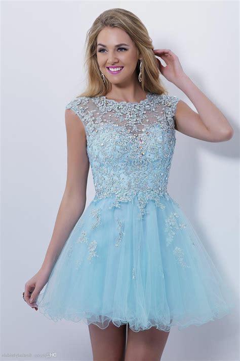 light blue cocktail dress light blue lace short prom dress naf dresses
