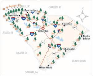 Sc State Parks Map by Educating South Carolina Did You Know North Carolina S