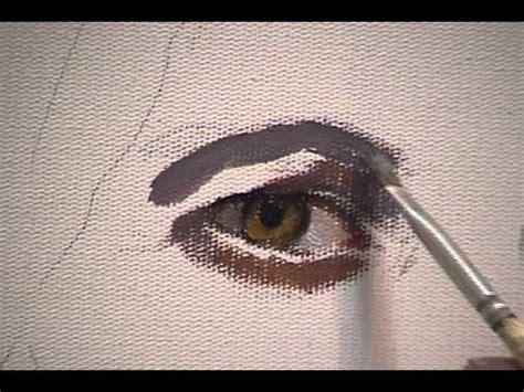 pintura de retrato  oleo youtube