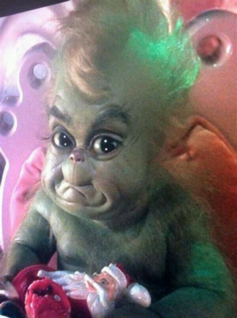 baby grinch   grinch stole christmas holiday