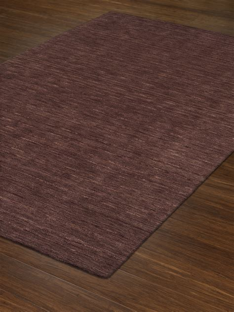 dalyn rafia rf100 plum area rug