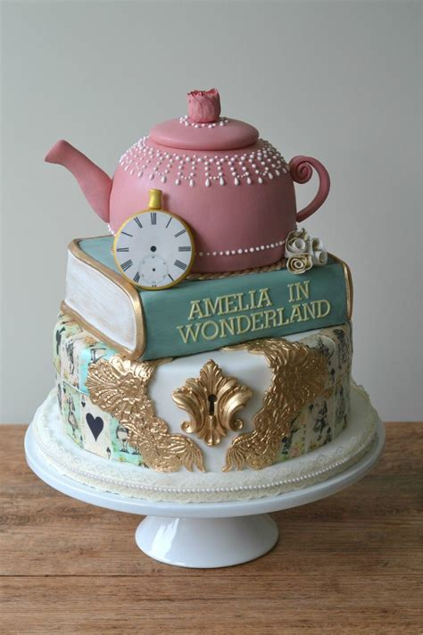 More Whimsical Cakes To Impress by A Merry Unbirthday To You A Whimsical In
