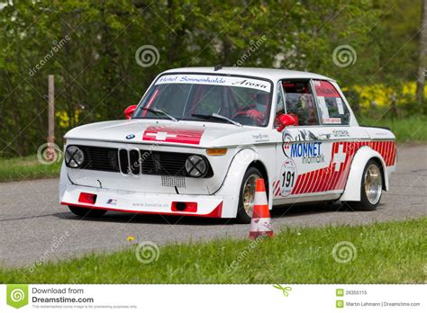 bmw 2002 tii race car vintage race touring car bmw 2002 tii from 1972 editorial