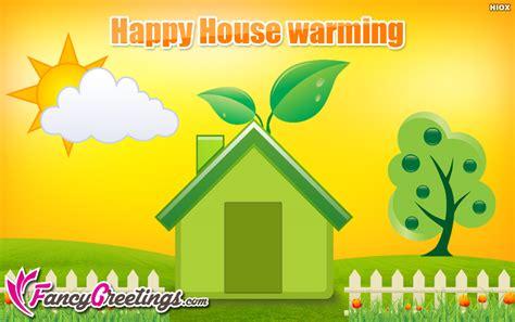 Housewarming Gift Card Message - happy housewarming wishes ecard greeting card fancygreetings com