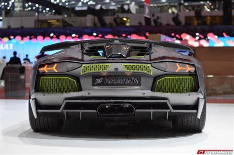Lamborghini Aventador Hamann Geneva 2014 Hamann Lamborghini Aventador Limited