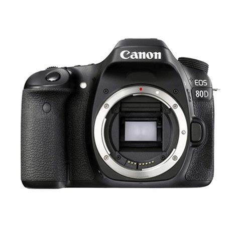 jual canon eos 80d kamera dslr only harga kualitas terjamin blibli