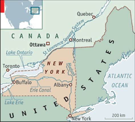 map of new york state and canada map new york and canada afputra