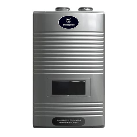 Daftar Water Heater Gas westinghouse 11 gpm ultra low nox gas condensing high efficiency tankless water heater