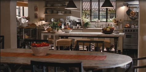 its complicated kitchen tour the spanish style home in the movie it s complicated