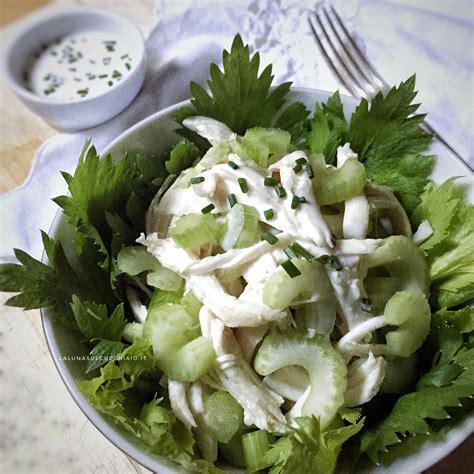 insalata di pollo con sedano insalata di pollo e sedano senza cottura la sul