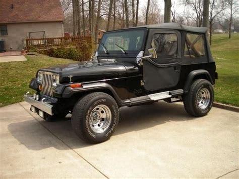 1989 jeep wrangler engine buy used 1989 jeep wrangler laredo yj rebuilt engine with