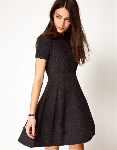 knitted dress knitted dresses casual laid back fashion carey fashion