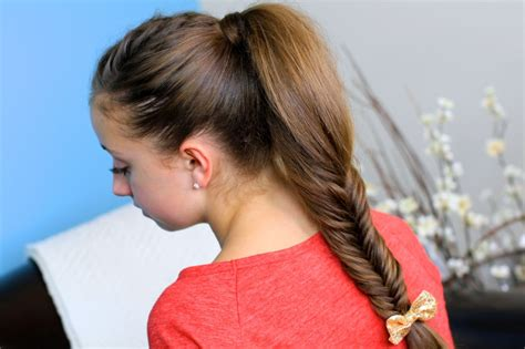 i want to see hair galarry on braids fluffy fishtail braid hairstyles for long hair cute
