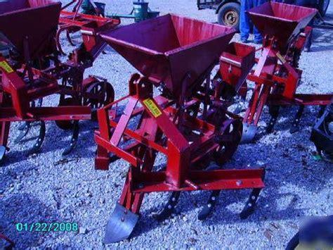Covington Planter For Sale by Covington Model Tp46 Single Row Planter With Culivator