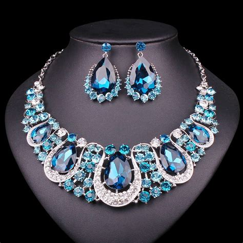 Fashion Bridal Jewelry Sets fashion indian jewellery necklace earrings set
