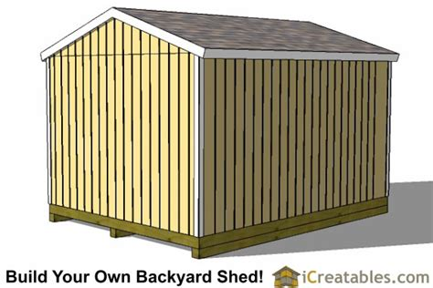 12x16 Gable Shed Plans by 12x16 Shed Plans Gable Shed Storage Shed Plans