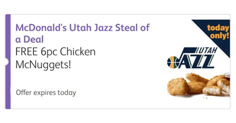 Calendar Coupons Utah Mcdonalds Printable Coupons Deals Coupons 4 Utah